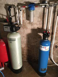 Rauaeraldusseade Oxydizer Pro Flow 1,1 m3/h ja katlakivinennetav seade Next Scale Stop NSS-835