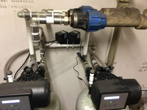 Oxydizer Pro Flow 1,6 m3/h paralleelselt paigaldatuna.