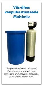 Veepuhastusseade viis-ühes Multimix