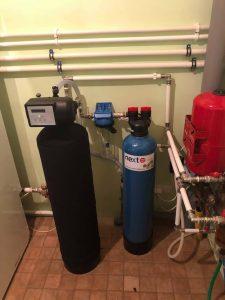 Veepuhastusseade Oxydizer Pro Flow (1,1 m3/h) ja katlakivi ennetav seade Next Scale Stop NSS-835