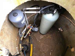 Rauaeraldusseade Oxydizer Pro Flow (1,6 m3/h) maaaluses kaevus