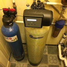 Rauaeraldusseade Oxydizer Pro Flow 1,1 m3/h ja katlakivi ennetav seade Next Scale Stop NSS-835